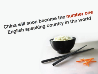 China will soon become the number one English speaking country in the world
