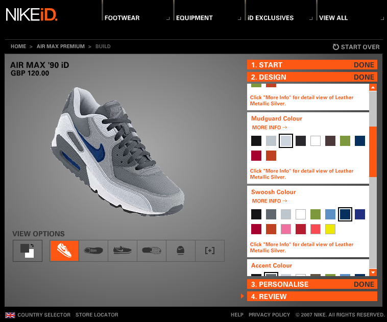 NIKEiD Trainers