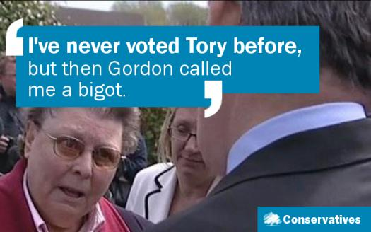 I've never voted Tory before...